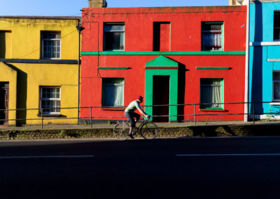 Cycling Poster Art: Blocks of Colour