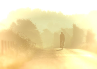 A layered watercolour feel to this early morning image captured near Cooden