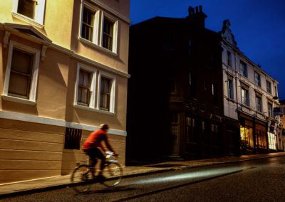 Early morning, London Road