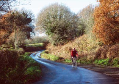 A spin along Compass Lane, Ninfield