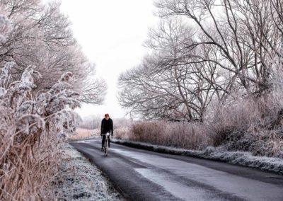 Bitter cold morning, near Pevensey