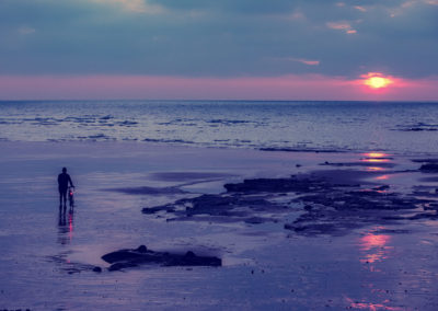 Greeting the dawn, Bexhill-on-Sea