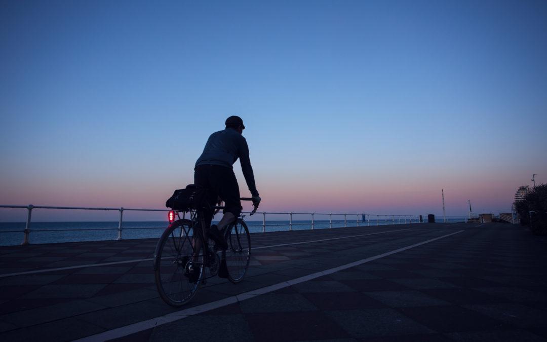 Blue Hour, Hastings Promenade