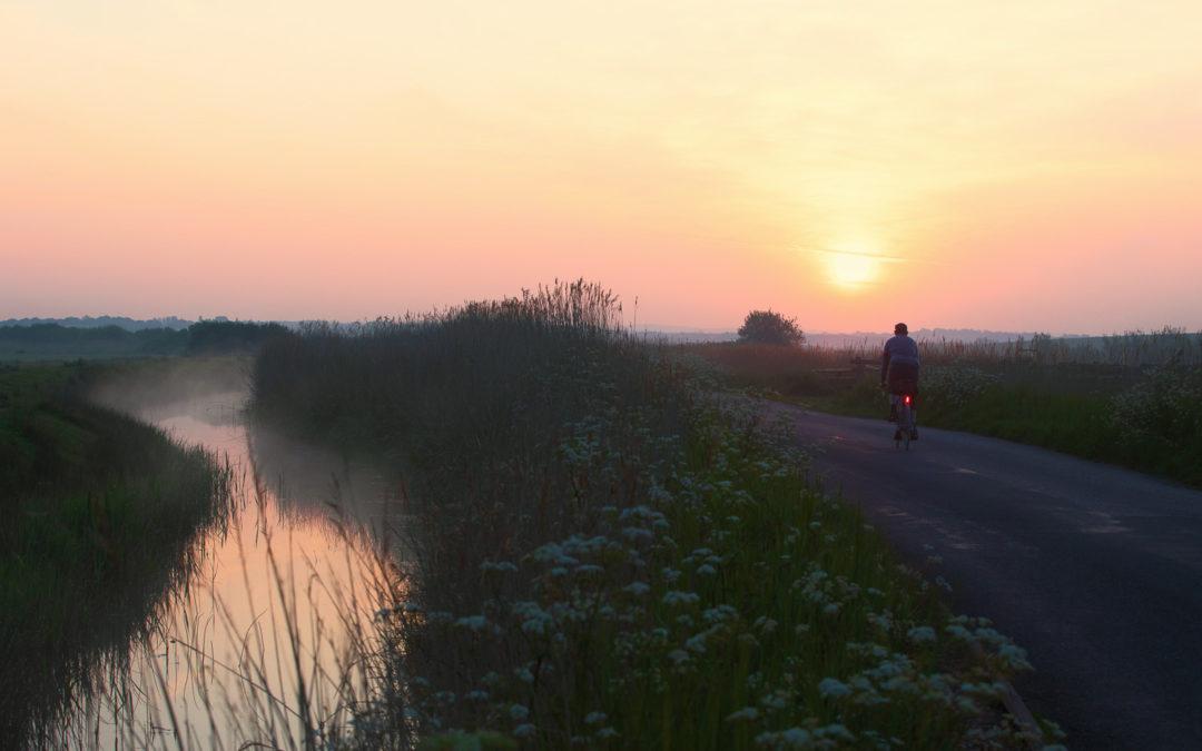 Sunrise, Sluice Lane