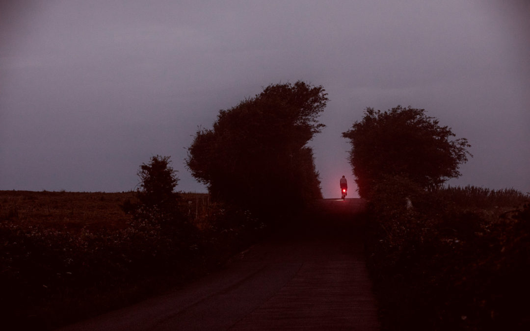 A Murky Morning Along The Marsh Road