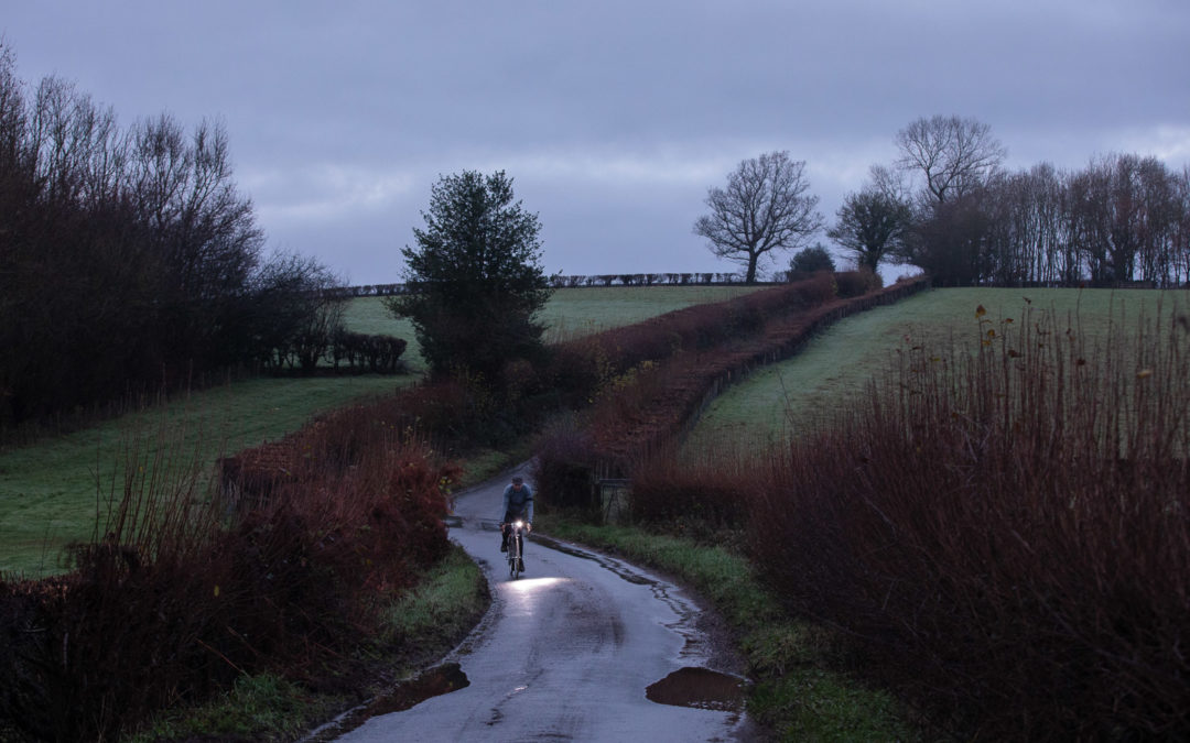 A Dark & Rainy Morning, Doleham, East Sussex