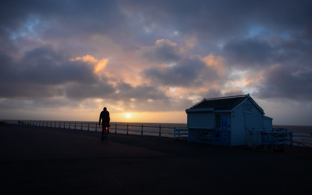 Daybreak on The Promenade, Bexhill-on-Sea