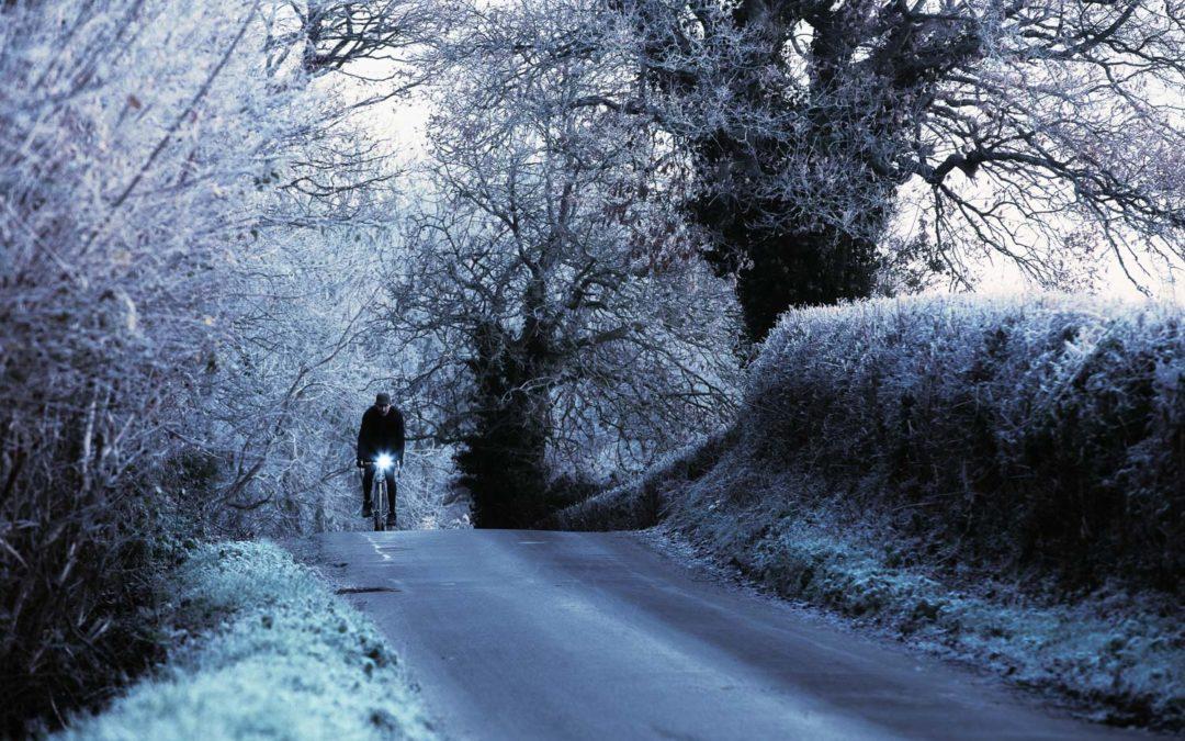 Hard Frost, near Wartling, East Sussex