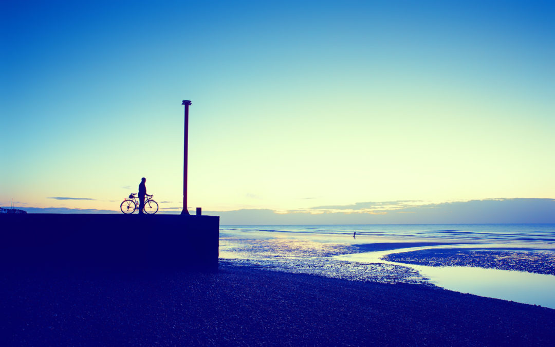 Low Tide at Dawn, Bexhill-on-Sea