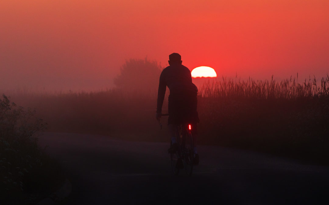 Red Sun Rising, Pevensey Marshes, East Sussex