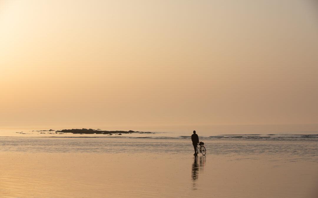 Seaside Minimalism, Low Tide at Hastings