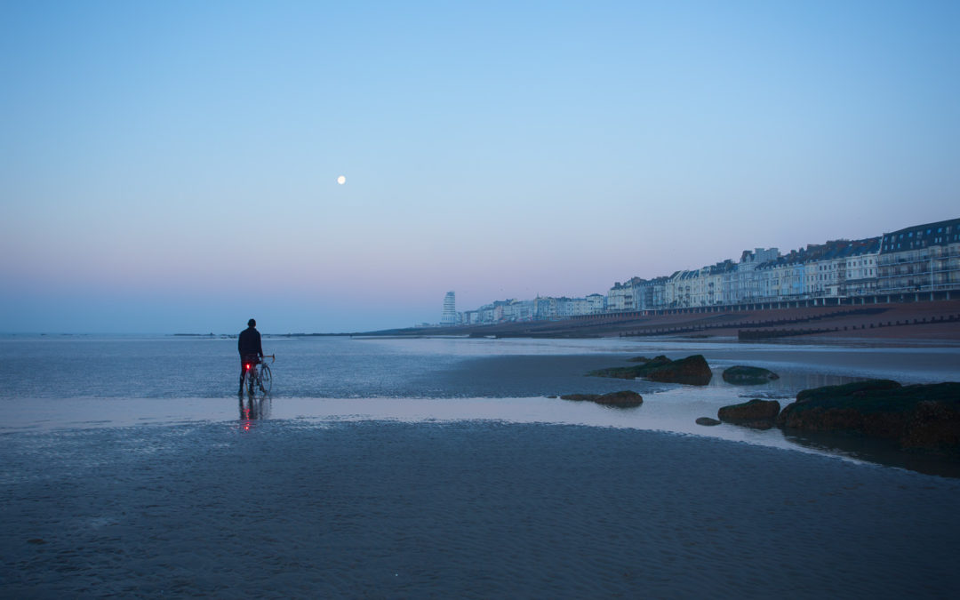 Early Morning and Low Tide, Hastings