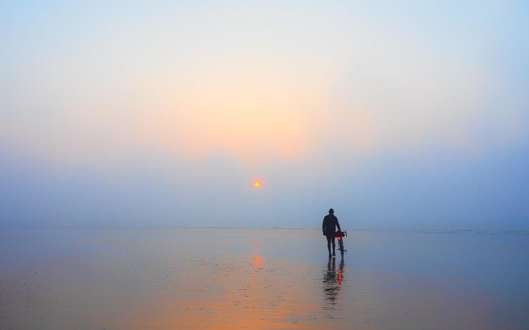 Impression Sunrise: Low Tide at Hastings