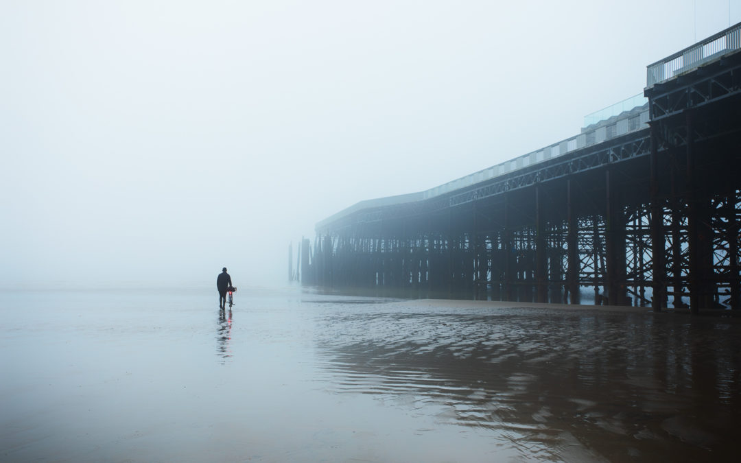 Victorian Iron, Misty Morning, Hastings Pier