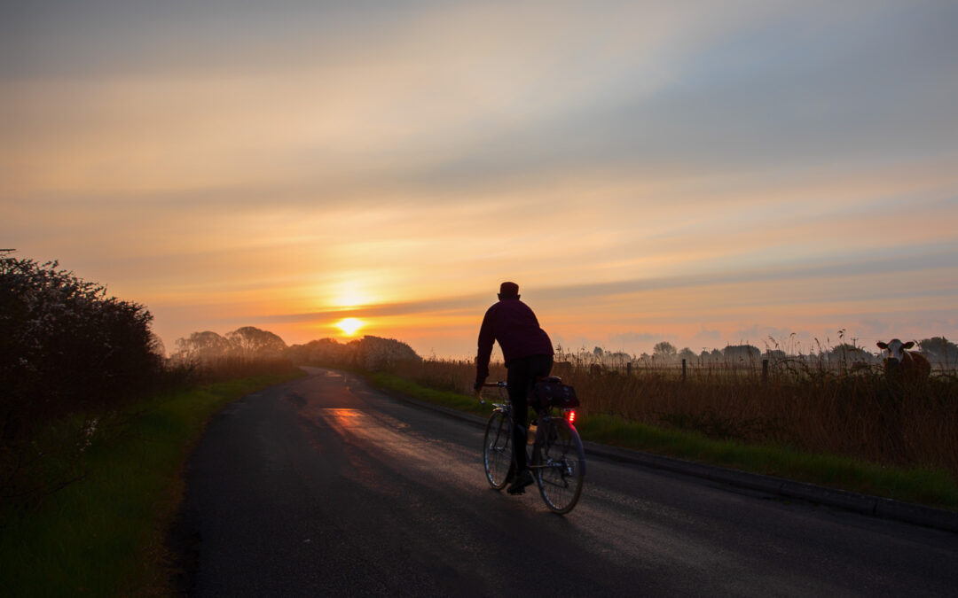 Greeting the Dawn, Old Marsh Road, near Pevensey