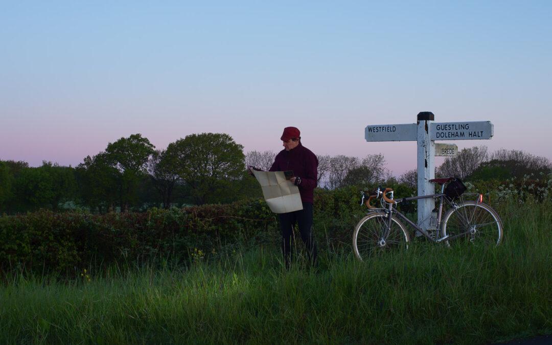 Wayfaring Before Dawn, near Doleham Halt