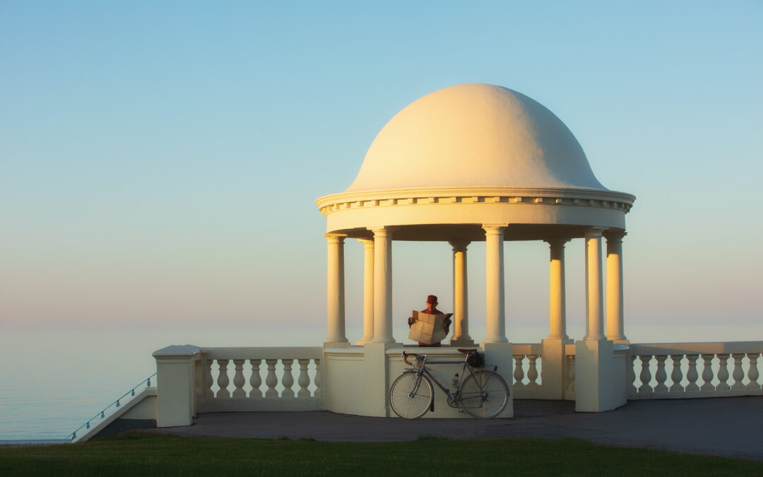 Making Plans on A Summer Day, Bexhill-on-Sea