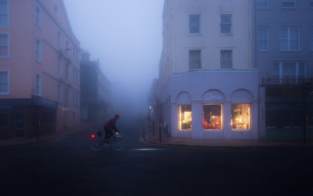 Night Fog, Hopperesque, St Leonard's-on-Sea